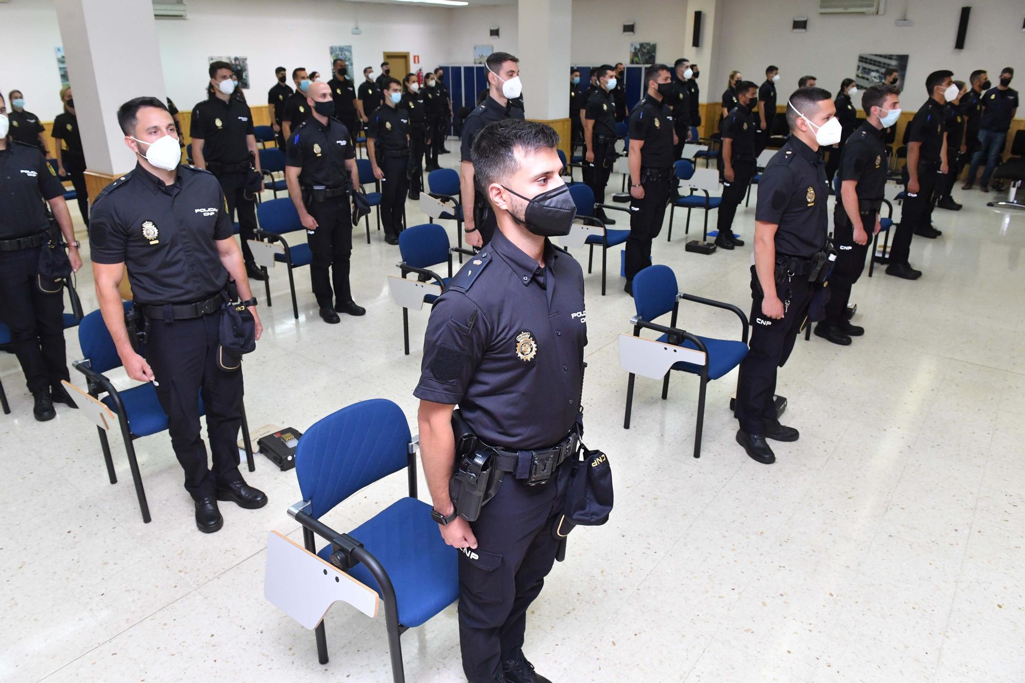 49 policías en prácticas se incorporan a las plantillas de la Comisaría Provincial de A Coruña