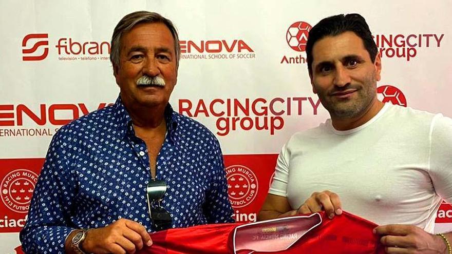 Antonio Pedreño sustituirá a David Vidal en el banquillo del Racing Murcia