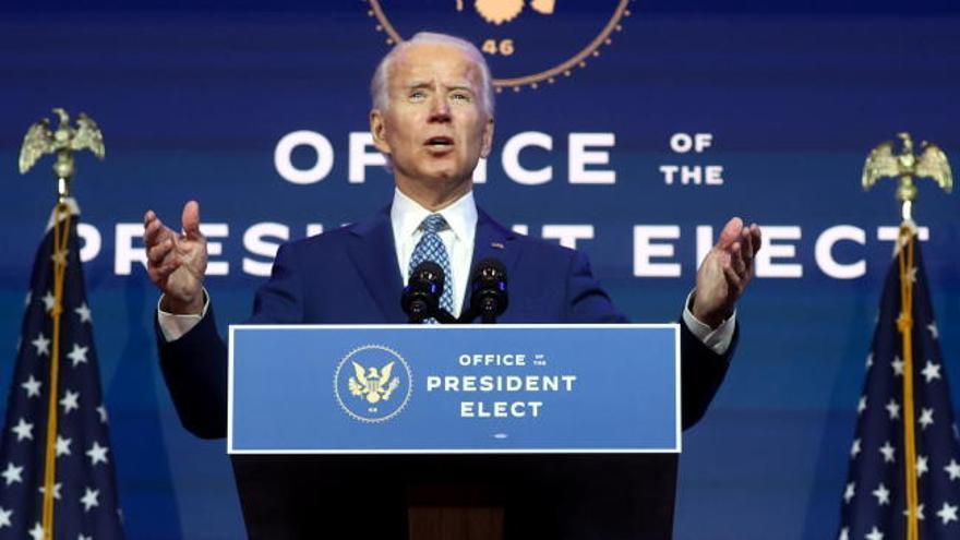 Biden, manos a la obra
