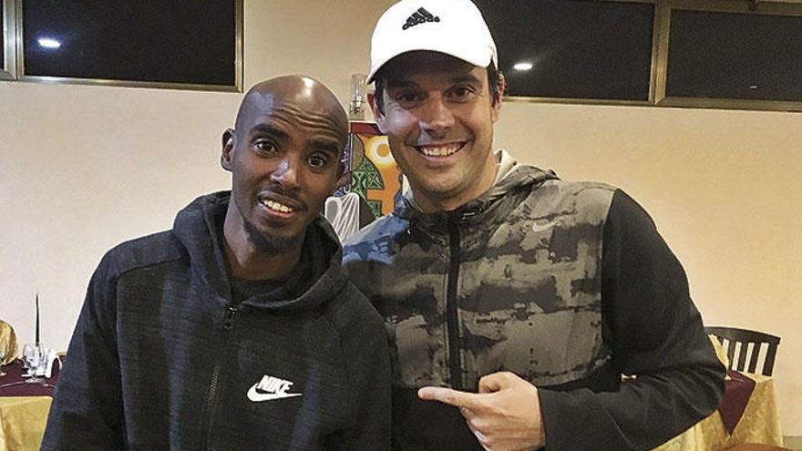 Eine Runde joggen mit Olympiasieger Mo Farah