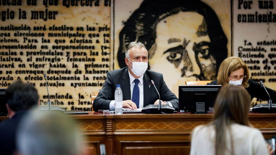 Torres reclama en el Senado más acción con la crisis migratoria en Canarias