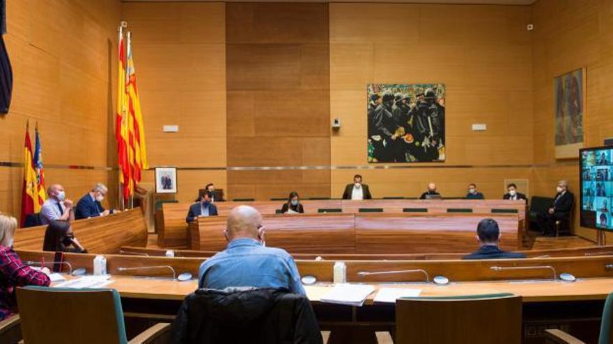 Tello, Gil y Giner: ¿voy al pleno de València o al de Diputación?