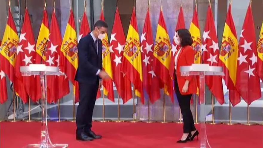 """Madrid replica que el acuerdo para las restricciones """"jurídicamente no es válido"""""""