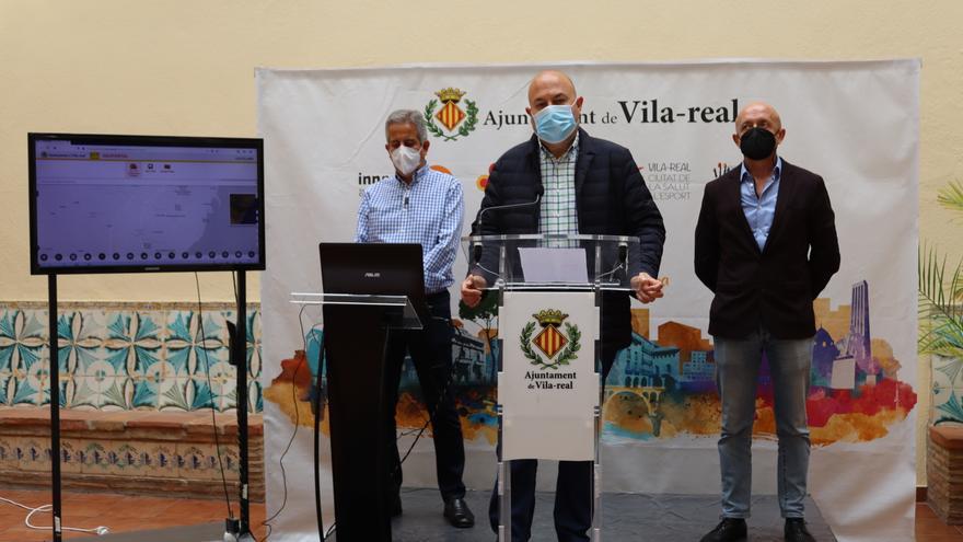 Vila-real diseña un geoportal para ofrecer datos urbanísticos y rastrear el bus