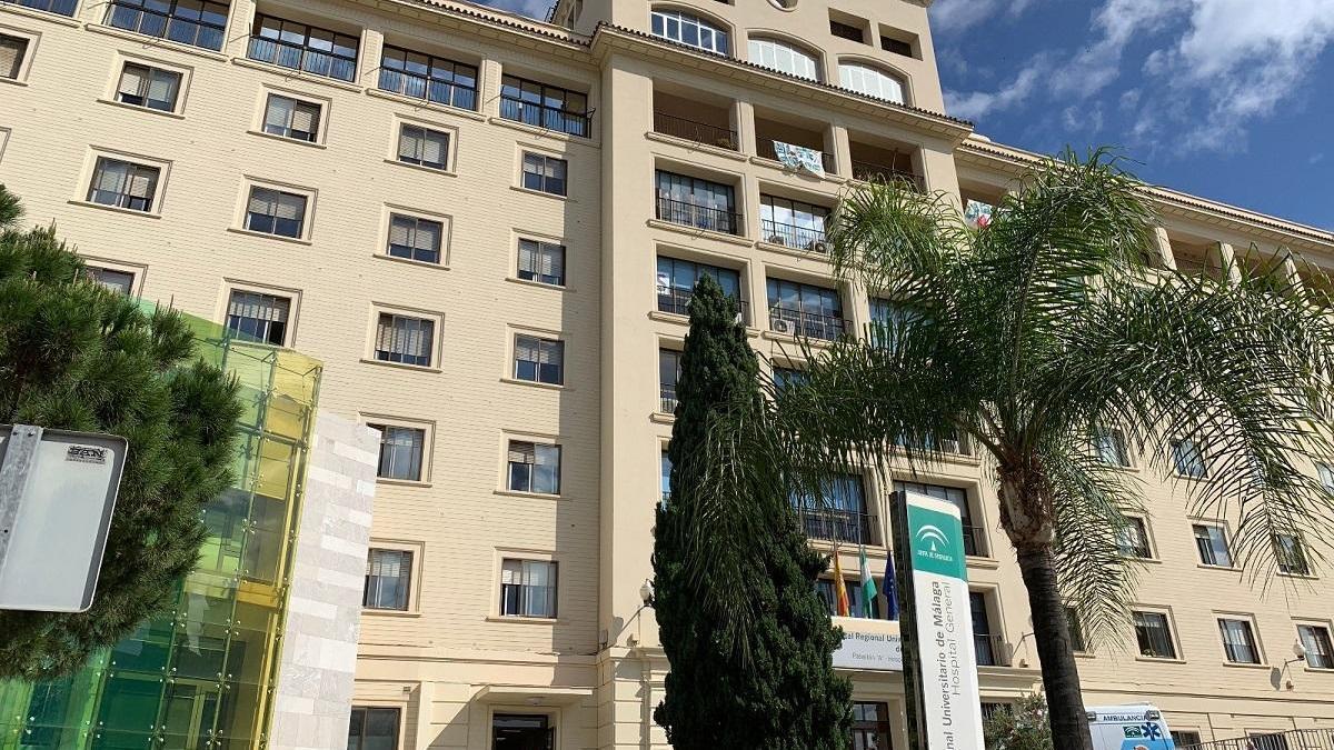 La agresión se produjo en el Hospital Regional de Málaga.