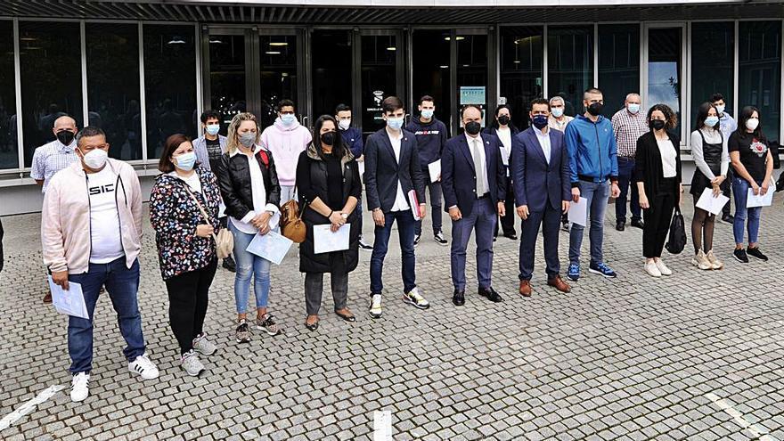 Luis López anuncia un taller de empleo para Lalín con una veintena de alumnos