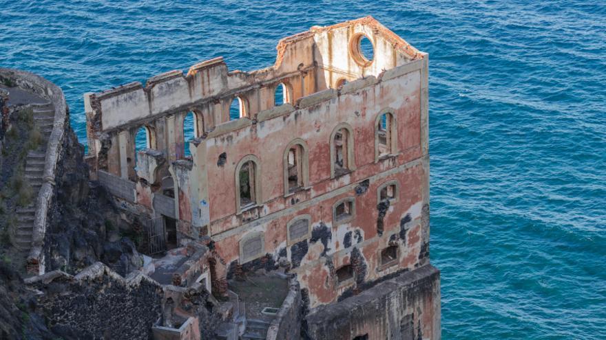 Reclaman protección para las ruinas del elevador de aguas de Gordejuela