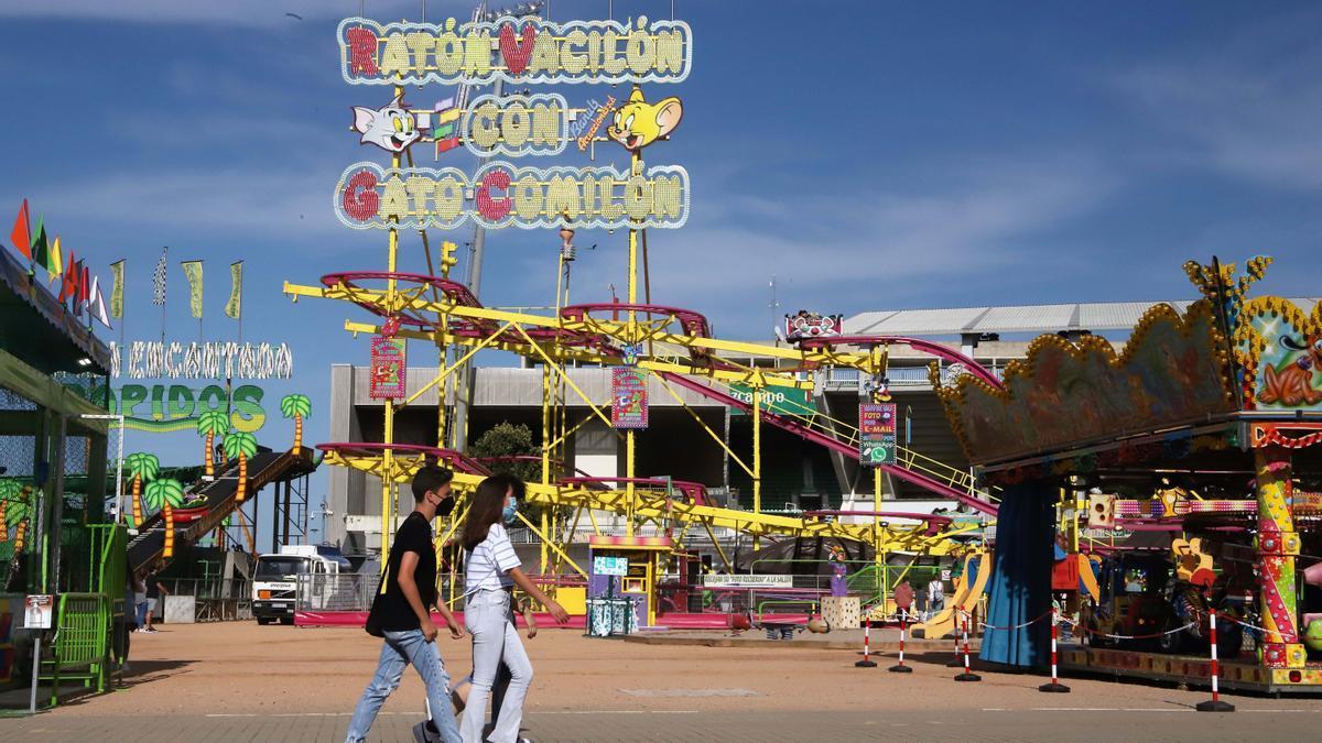 Los más jóvenes toman el 'Arenal Park'