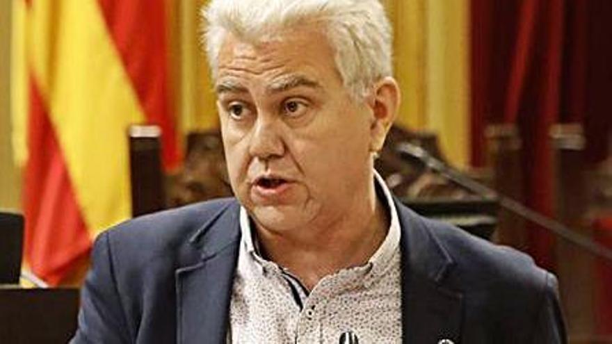 El diputado Josep Melià.