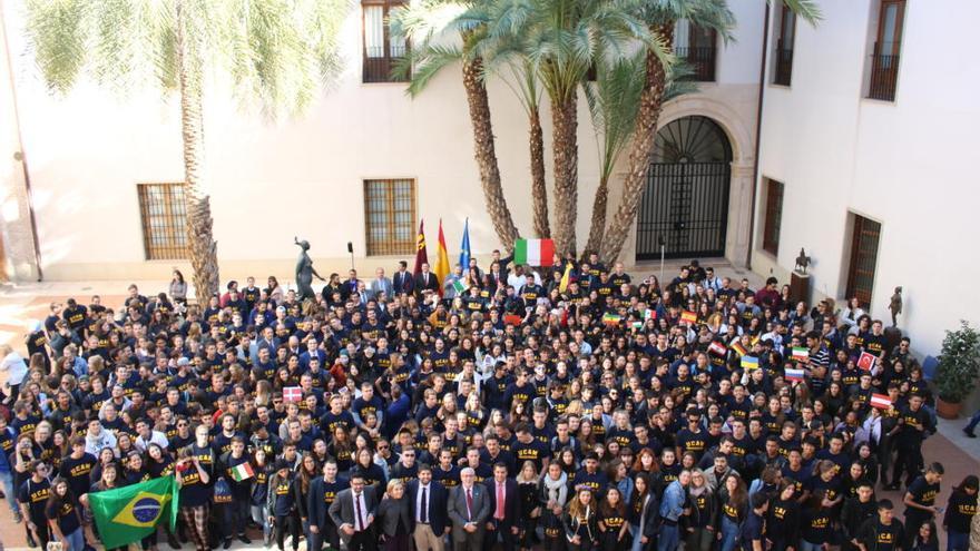 Estudiantes de cien países se forman este curso en la UCAM