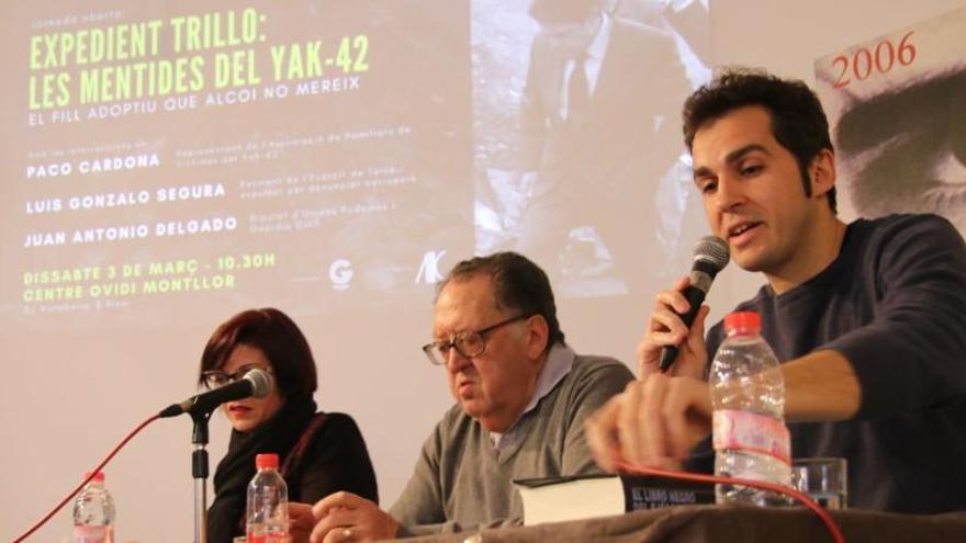 Guanyar de Alcoy celebra una conferencia para abordar las mentiras del accidente del Yak 42