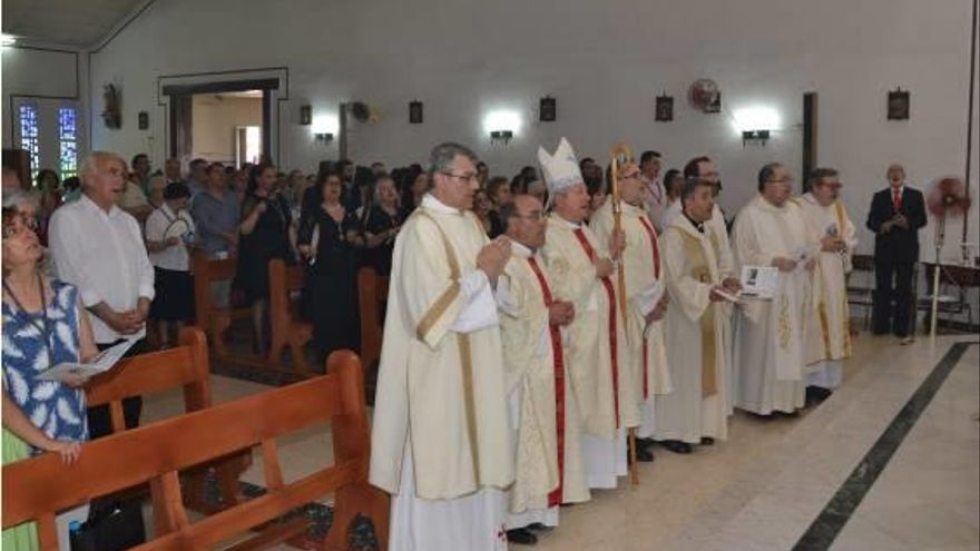 La parroquia del Carmen celebra 50 años del templo