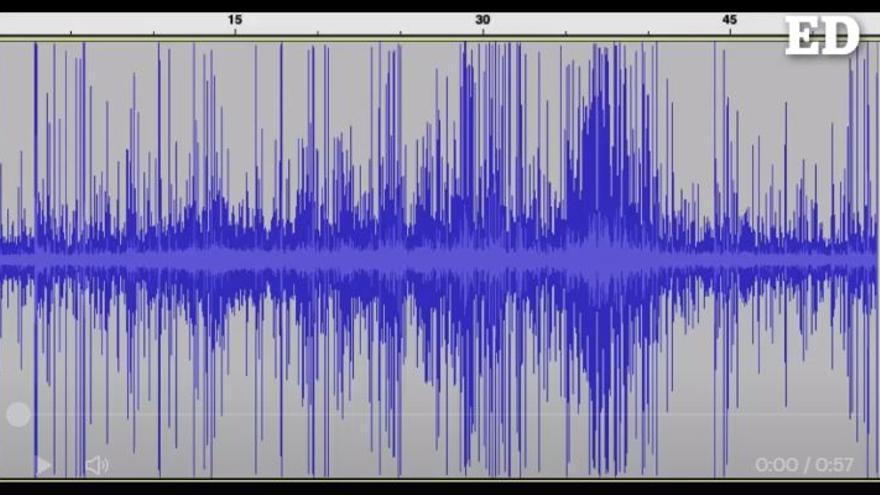 Así suena el enjambre sísmico en La Palma