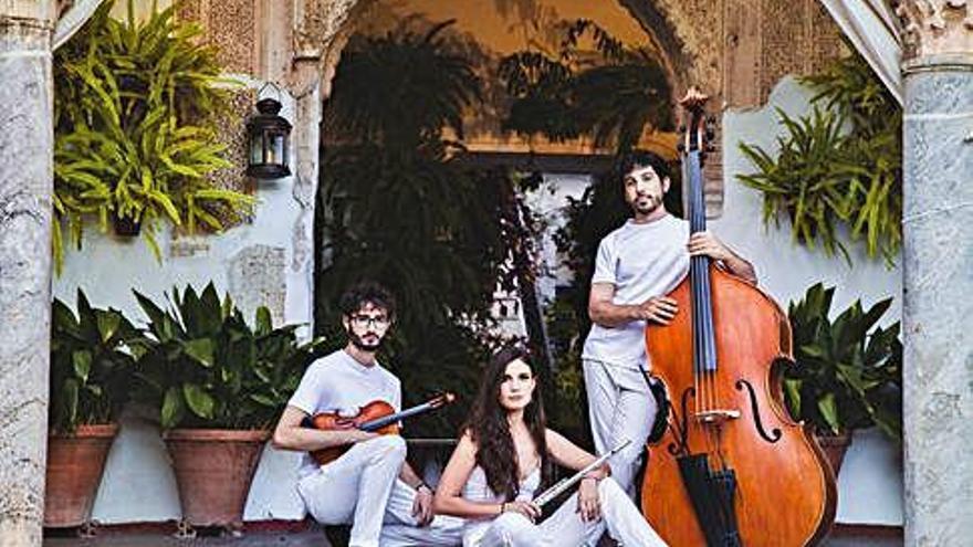 Vandalia Trío logra recaudar más de 10.000 euros para grabar su disco
