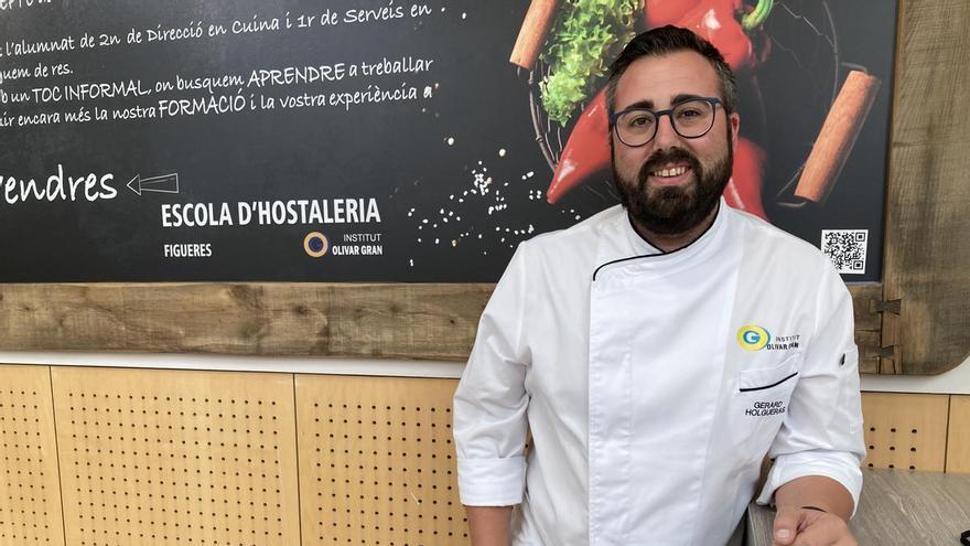 El cap del Departament d'Hoteleria i Turisme de l'Escola d'Hostaleria de Figueres, Gerard Holgueras