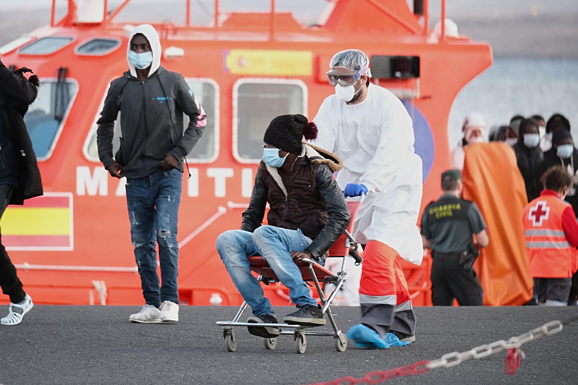 Llegada de migrantes a Fuerteventura