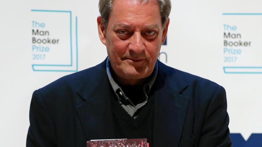 """Paul Auster: """"Los moribundos nunca deberían dar consejos"""""""