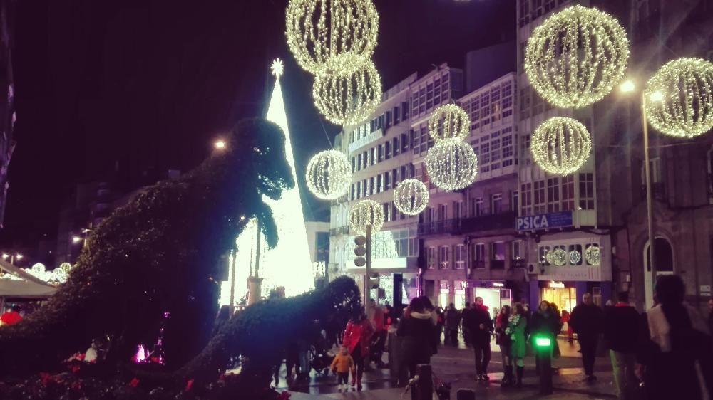 Navidad 2018 en Vigo: Encendido de las luces