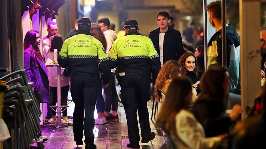 Las sanciones por fiestas se disparan en València