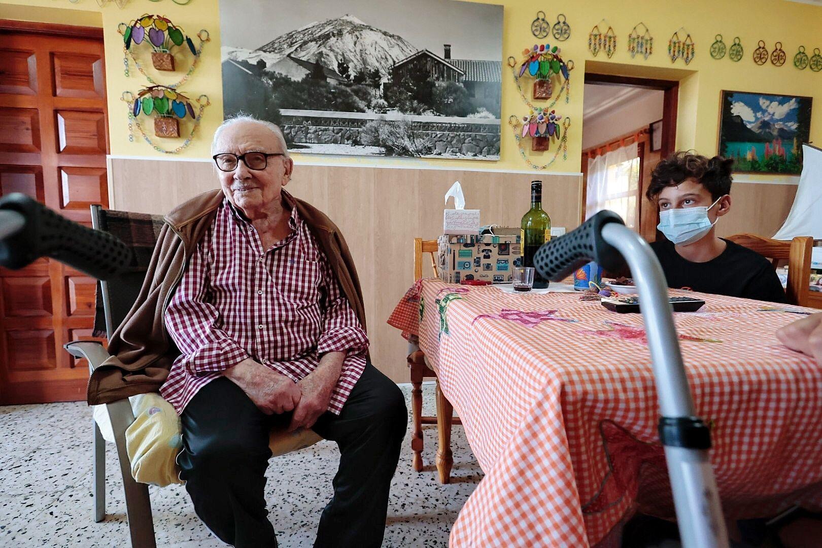 Un vallero con 101 años