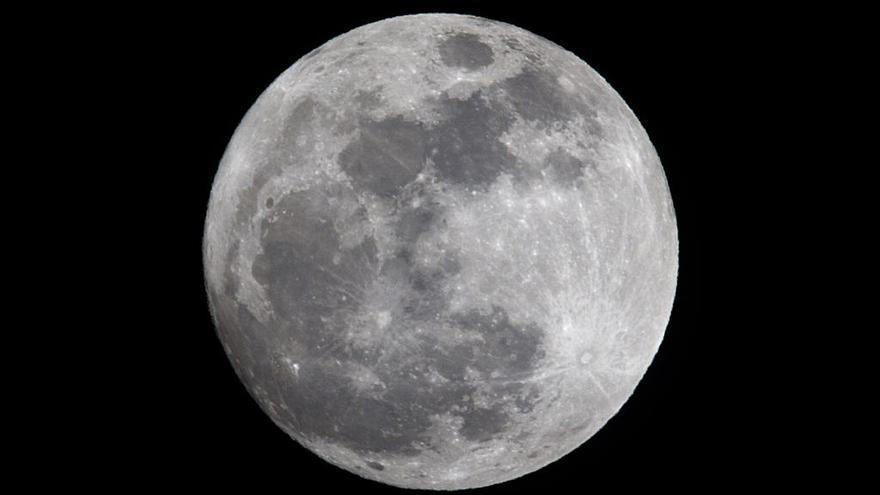 'Superluna de nieve': este fin de semana se puede ver la Luna más grande del año