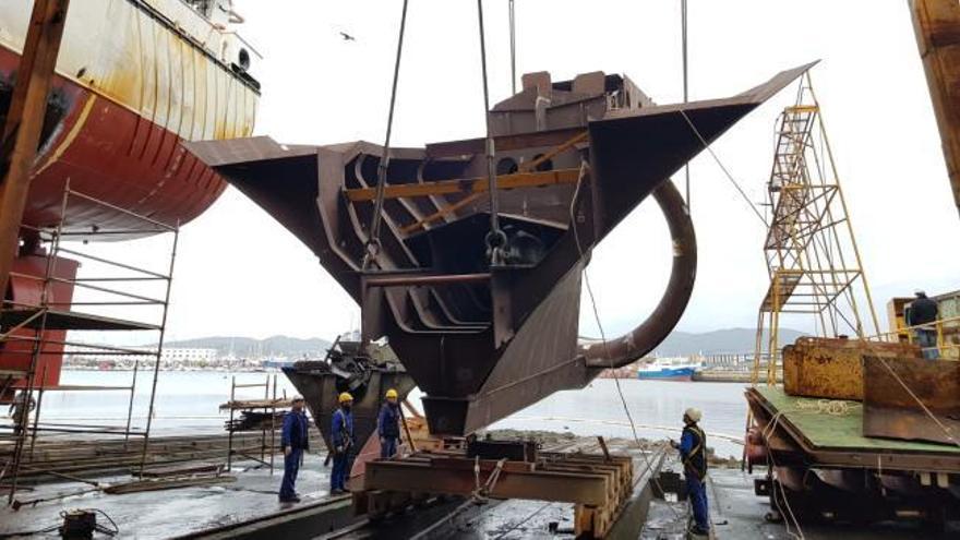 Chymar invierte más de tres millones para la reforma de sus buques en Cardama Shipyard