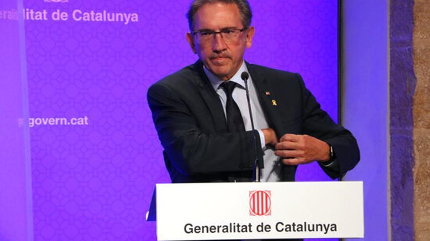 Giró assegura que Santi Vila també es podrà acollir al fons del Govern per pagar les fiances al Tribunal de Comptes