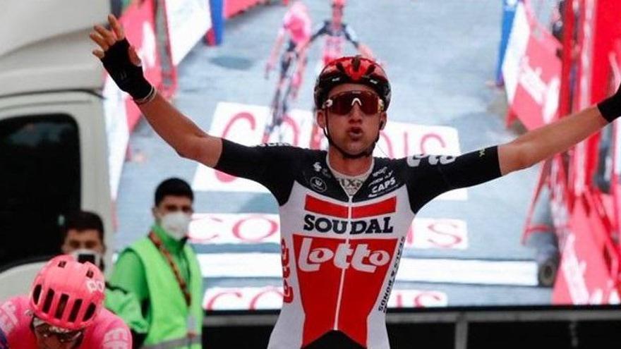Ganador de la etapa 14 de la Vuelta: Tim Wellens