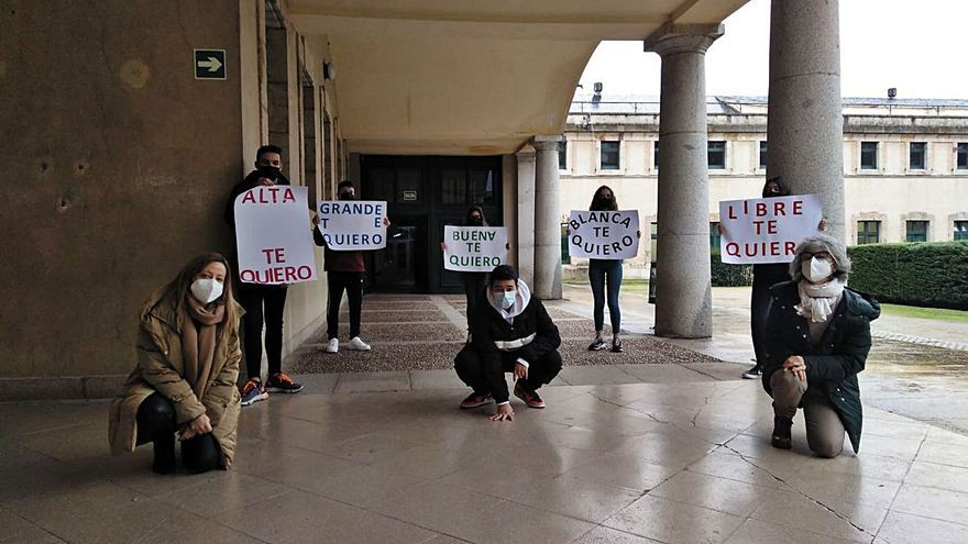El Universidad Laboral, contra la violencia machista