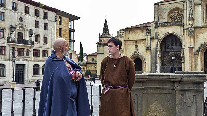 El rey Alfonso II volverá a hacer el Camino gracias a una recreación histórica