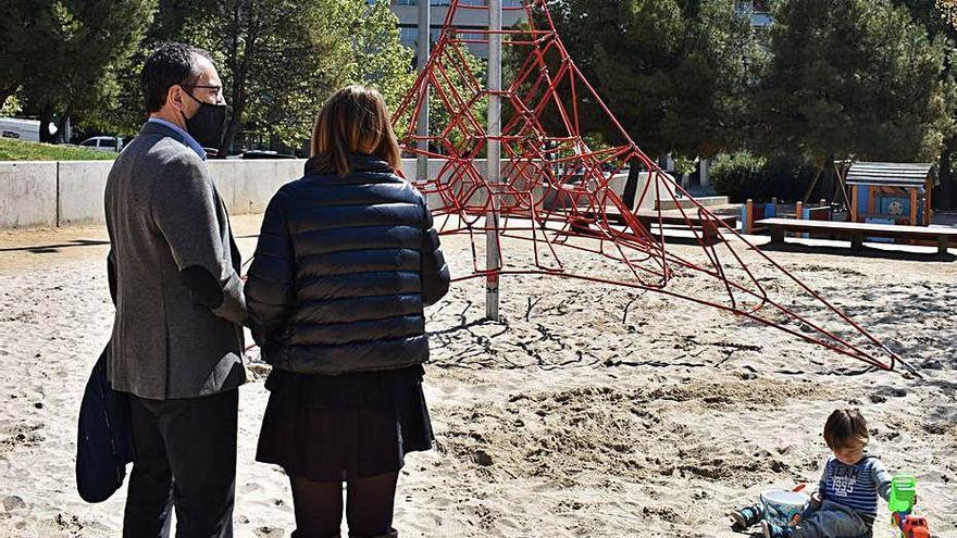 L'Ajuntament de Manresa inverteix 670.500 euros en tres anys en parcs infantils