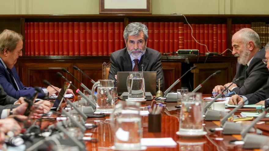 El CGPJ aplaza los nombramientos ante la existencia de negociaciones para su renovación