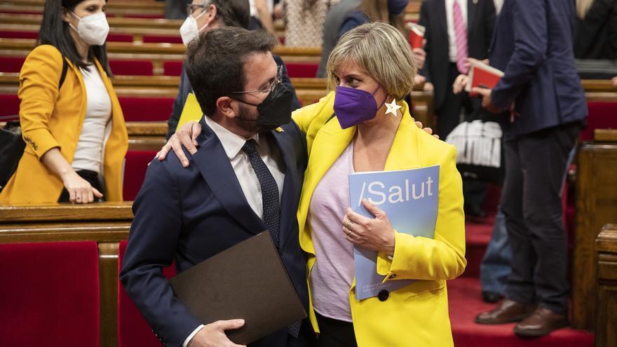 El ple escull Alba Vergés com a vicepresidenta primera de la Mesa amb el suport dels independentistes