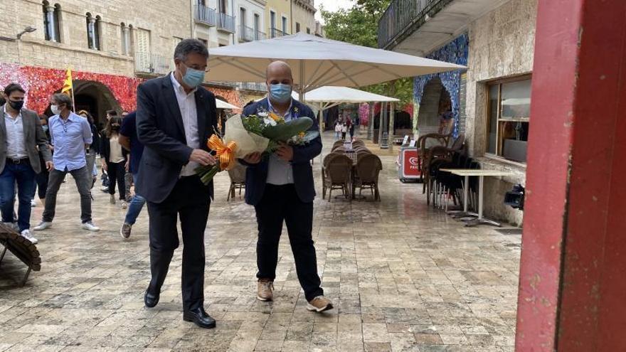 Banyoles Celebració conjunta de la Diada amb el Consell Comarcal