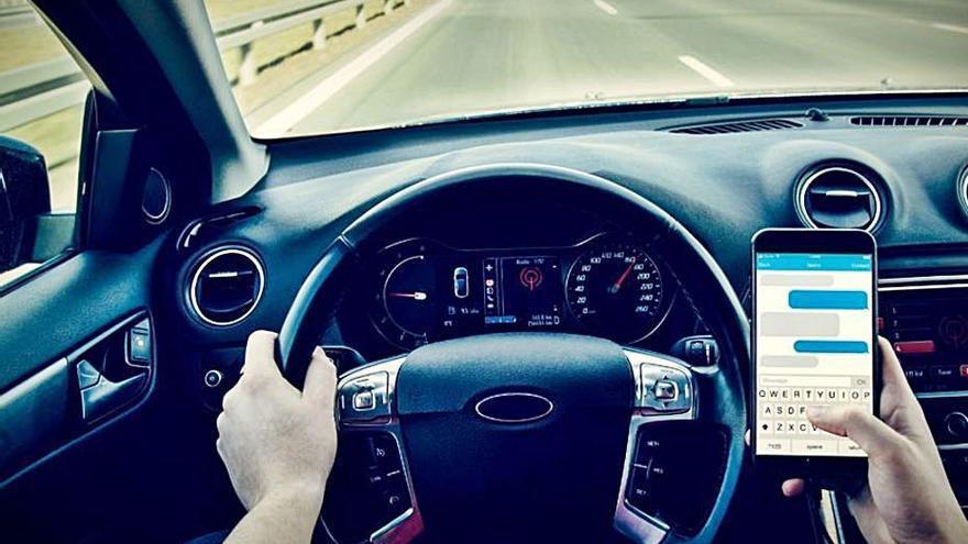 Los efectos de las distracciones al volante