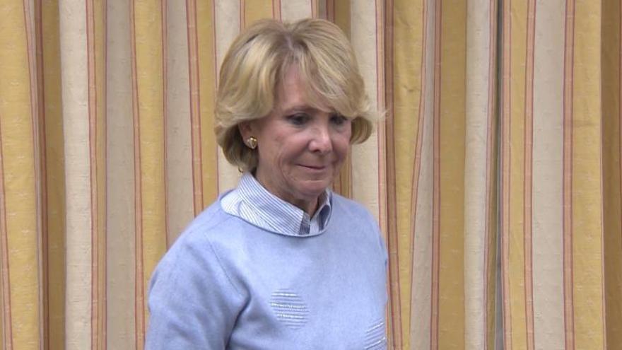 El juez del caso Lezo rechaza imputar a Esperanza Aguirre