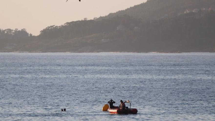 Sin rastro de un bañista desaparecido en Vigo
