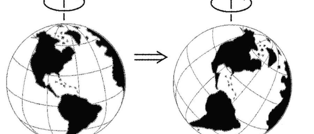 El calentamiento global cambia al eje de la Tierra