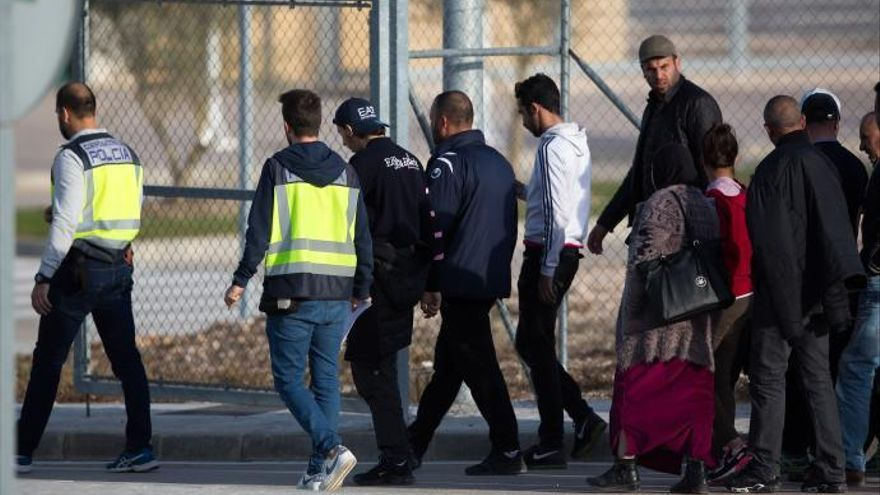 El inmigrante que se suicidó en Archidona fue confinado en su celda tras un motín