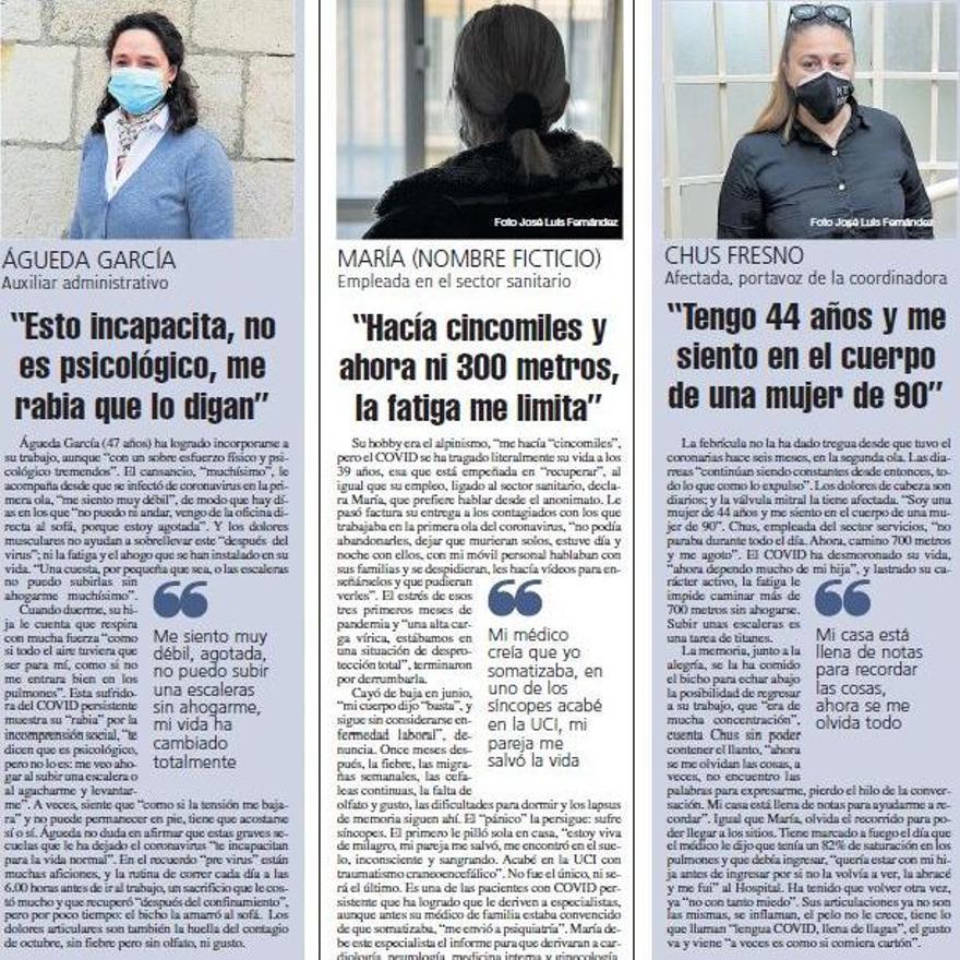 TESTIMONIO AFECTADAS POR EL COVID PERSISTENTE