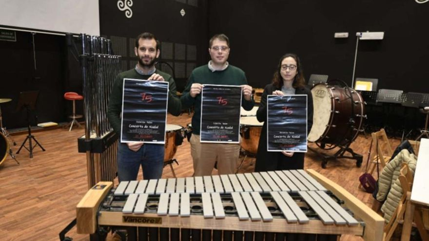 La Banda de Vilatuxe repasa su historia en el recital de Navidad