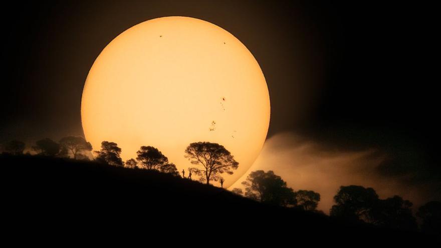 Una imagen del Sol captada en la provincia de Alicante cautiva a la NASA