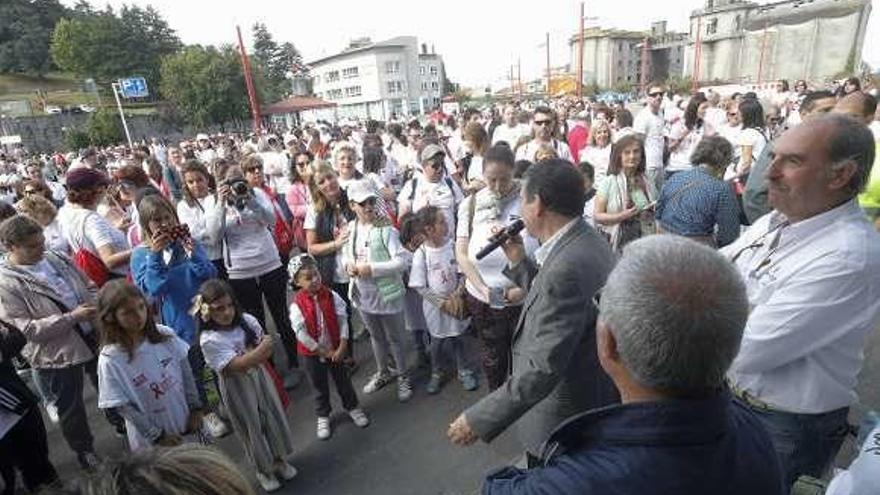 Mil solidarios en la Andaina contra el cáncer infantil