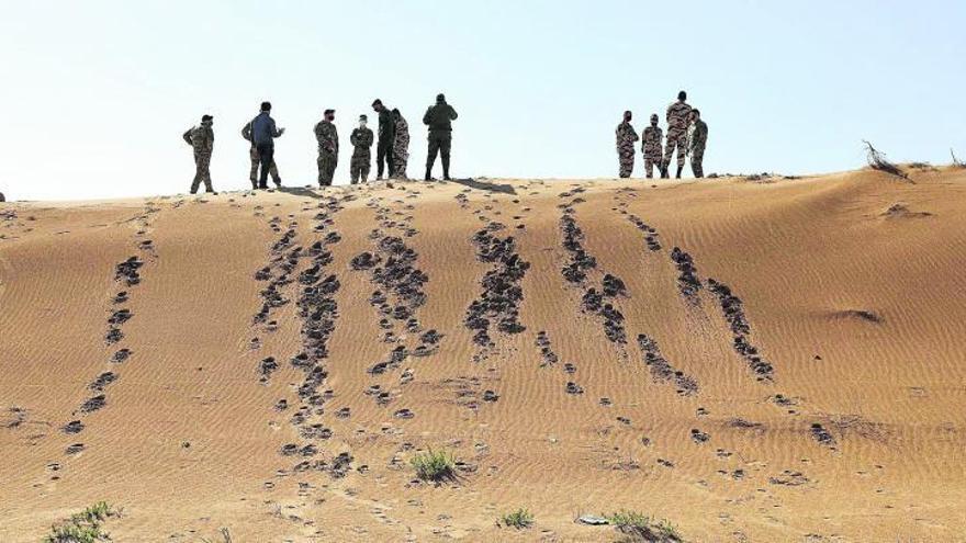 EEUU saca las maniobras militares  del Sáhara para así reducir la tensión