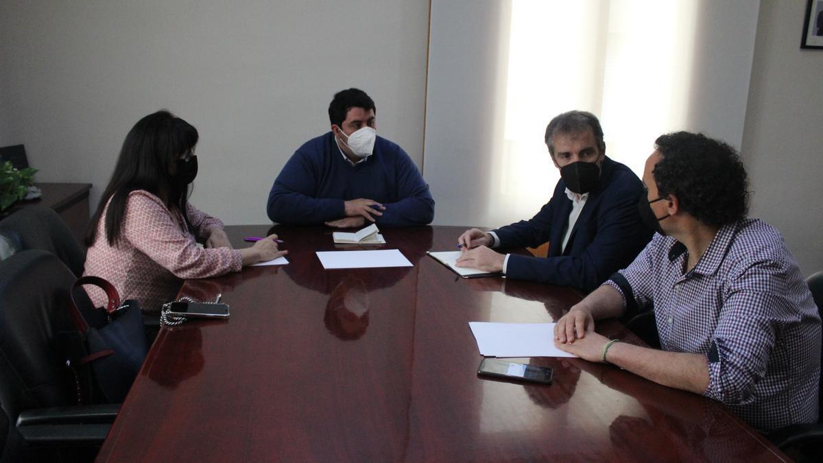 Los alcaldes de la Vilavella, Nules y Moncofa queiren colaborar para lograr fondos europeos con un proyecto intermunicipal.