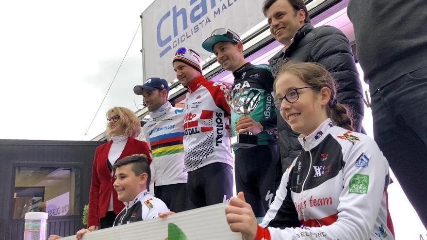 Wellens firma su tercer triunfo en la meta de Deià de la Challenge de Mallorca