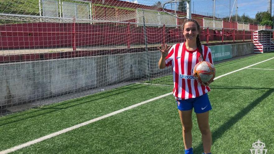 Inés Santamaría firma cuatro goles ante el Villestro