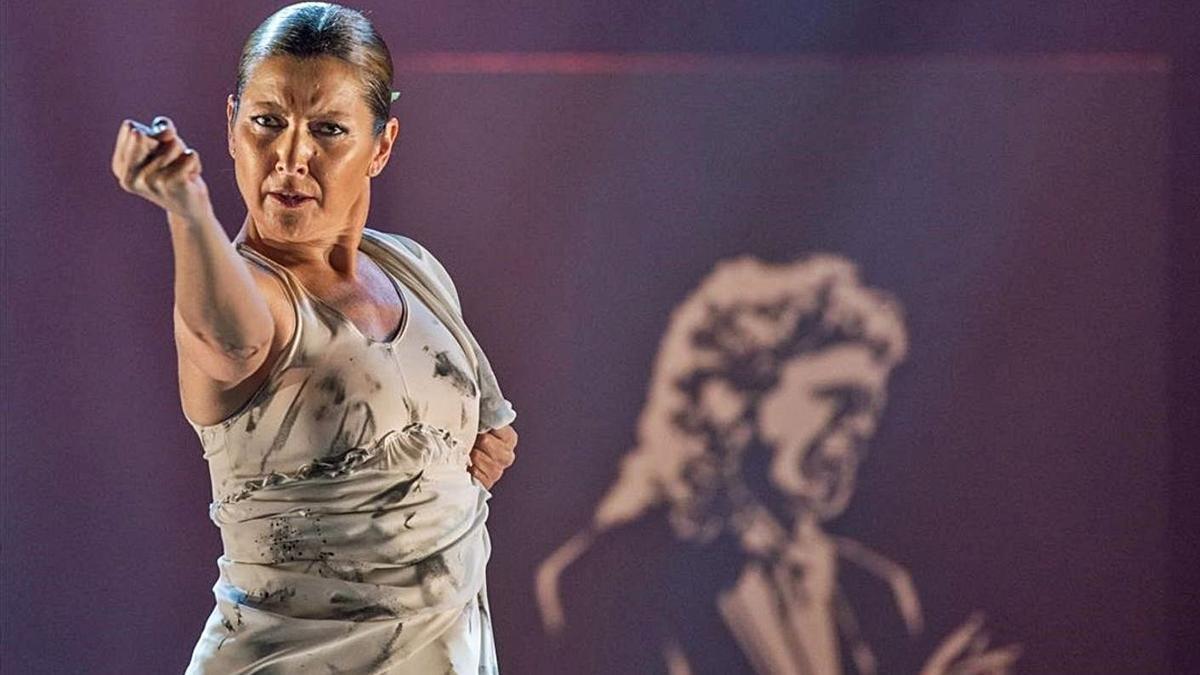 Sara Baras actuará en la VII Bienal de Flamenco.