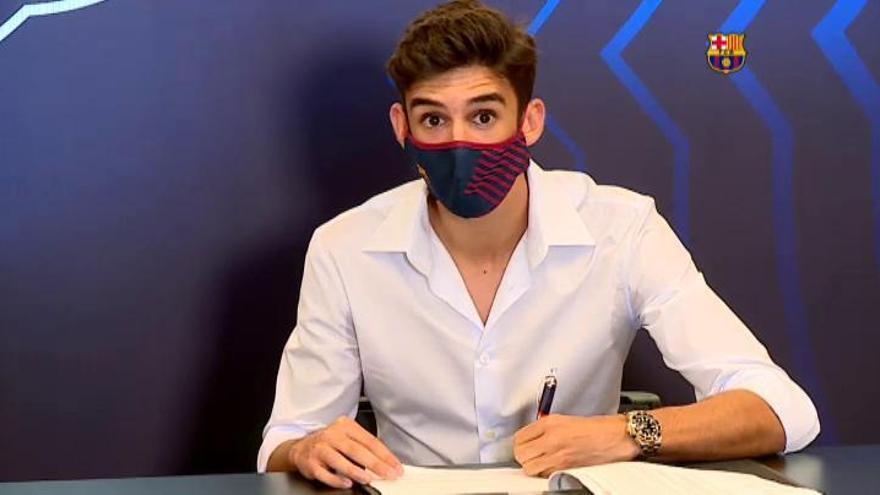 """Trincào evita la comparación con Figo y quiere hacer su """"propia historia"""""""