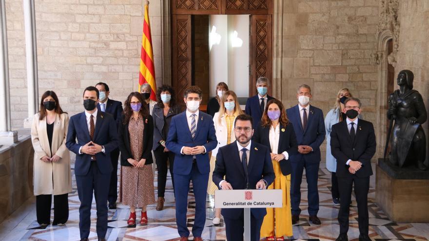 """Pere Aragonès diu que és el moment de """"posar fi a la repressió"""" i demana un referèndum acordat"""